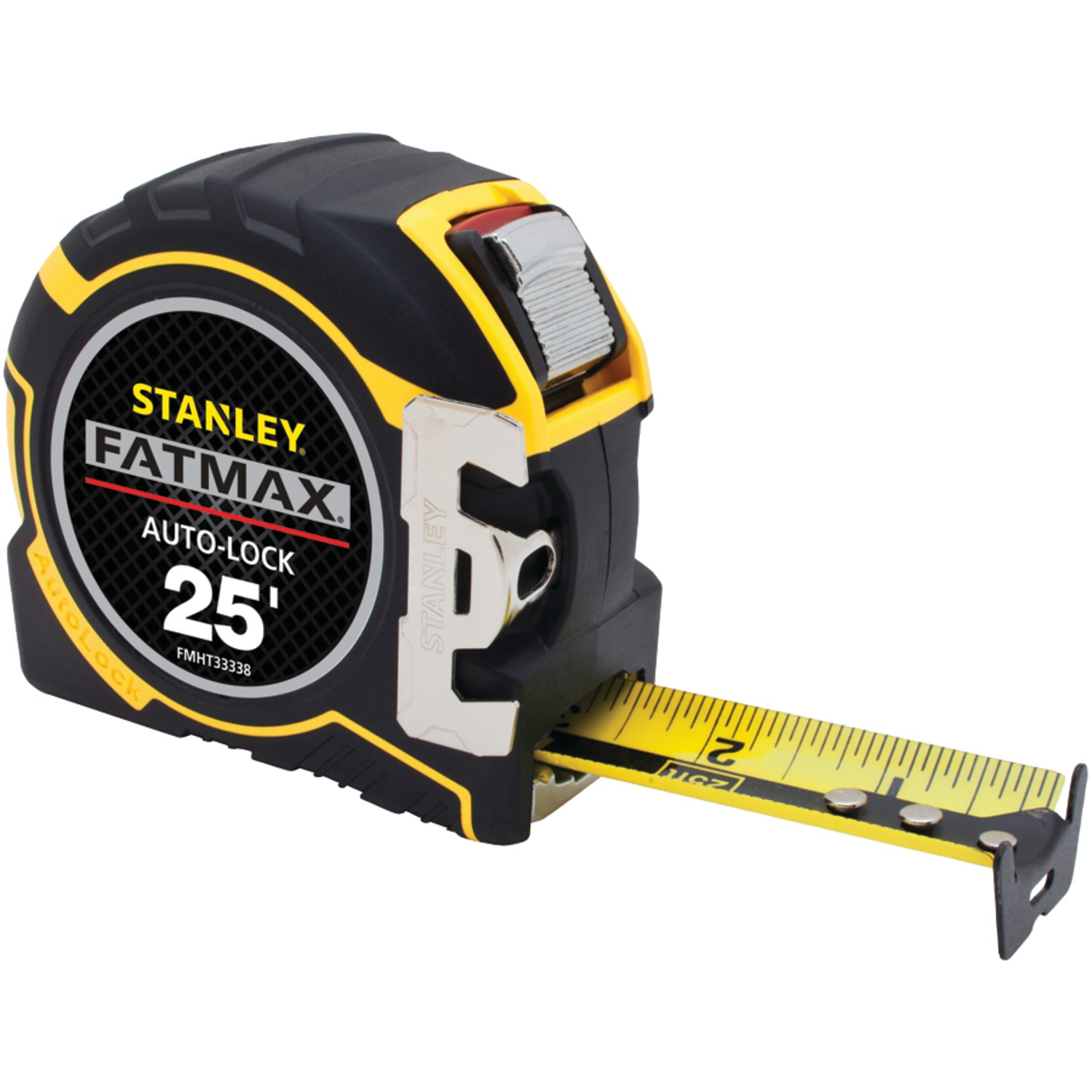 stanley fmht33338l fatmax r 25ft auto lock tape measure ebay. Black Bedroom Furniture Sets. Home Design Ideas