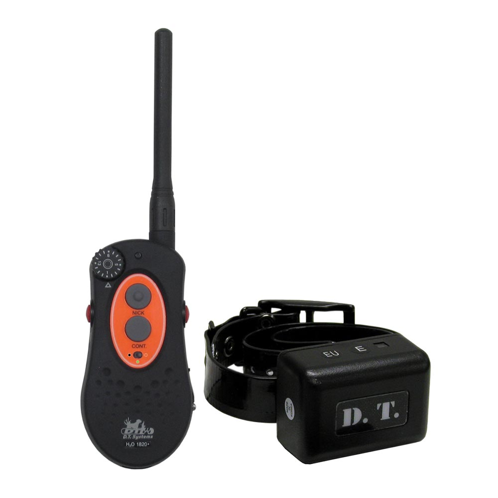 D.T. SYSTEMS H2O1820-PLUS Black D.T. SYSTEMS H2O 1 MILE DOG REMOTE TRAINER WITH VIBRATION BLACK H2O1820-PLUS