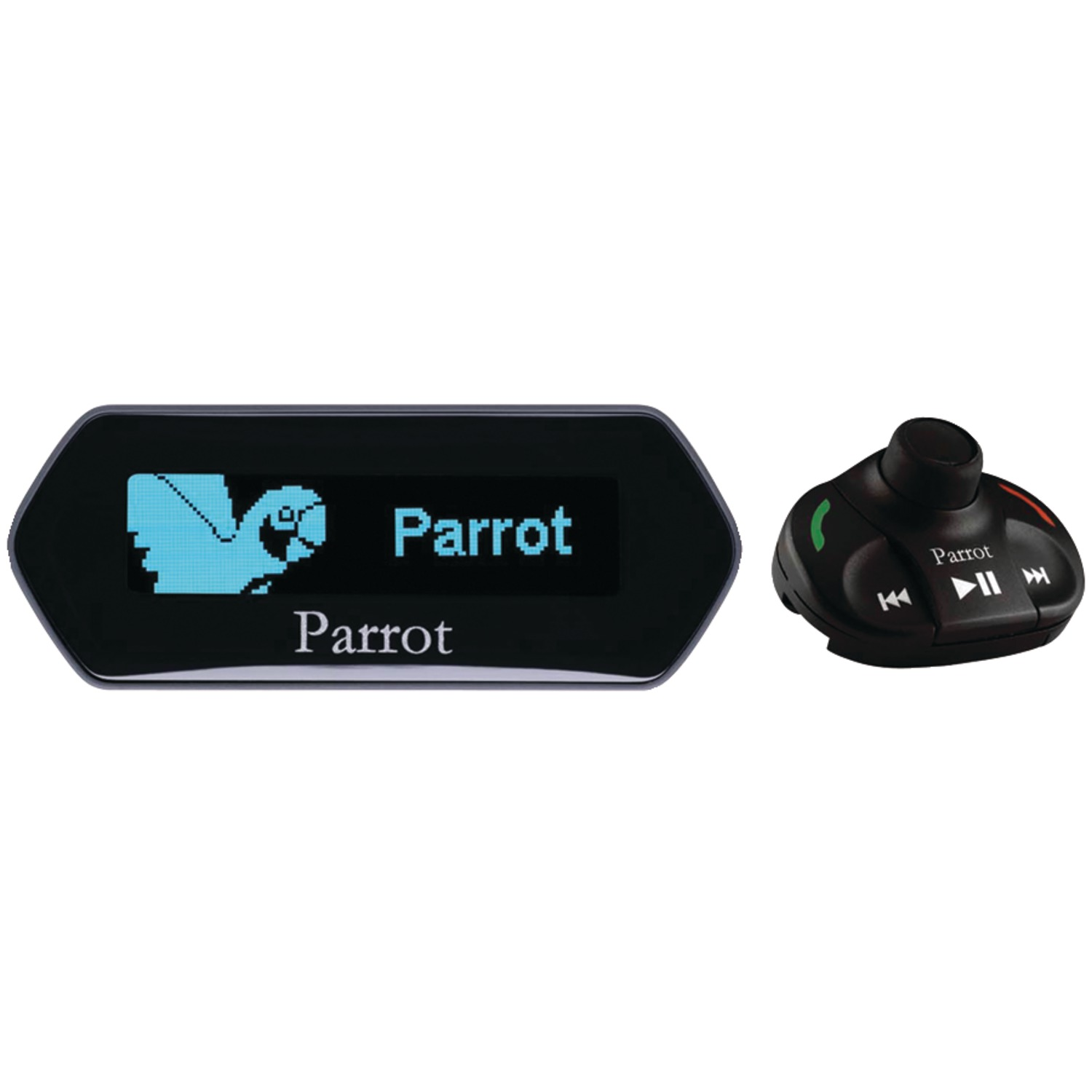 Bluetooth Music Streaming Kit Ipod Media Interface Cable: PARROT MKI9100 Bluetooth(R) Car Kit With Streaming Music