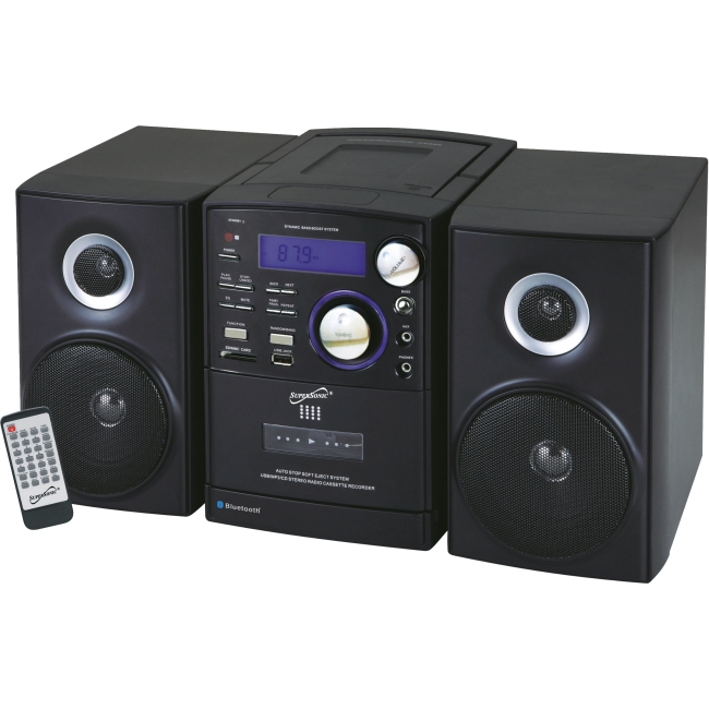 SUPERSONIC SC-807 BT MP3 CD Micro Stereo System