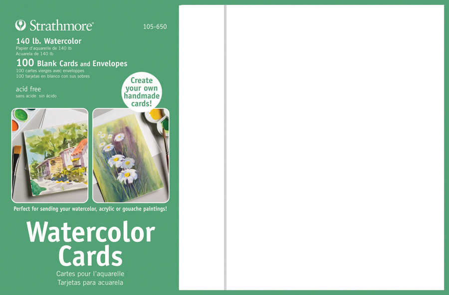 """ARTstop 10 Sheets Strathmore 200 Canvas Paper Pad 9 x 12/"""""""