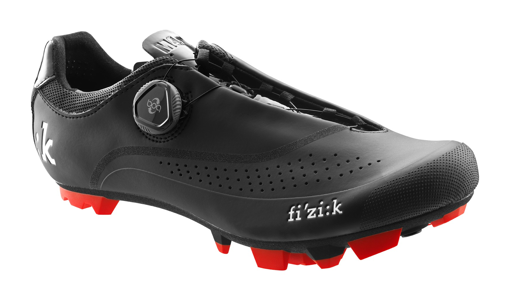 Black with Red Trim SHOES FIZIK M4M-BC1030-17-42 Black ... MEN/'S MOUNTAIN