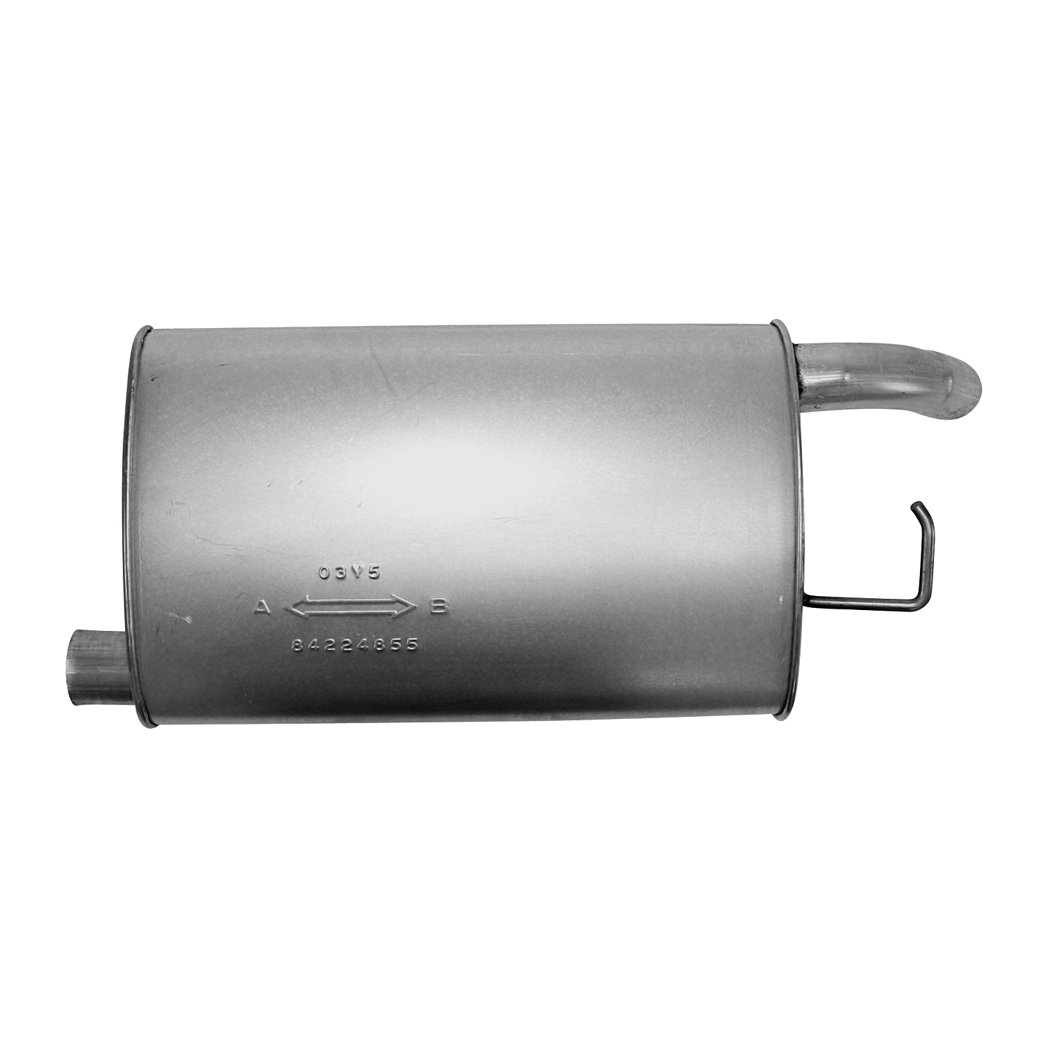 AP Exhaust 6496 MSL Big Max Turbo Muffler Aluminized Steel