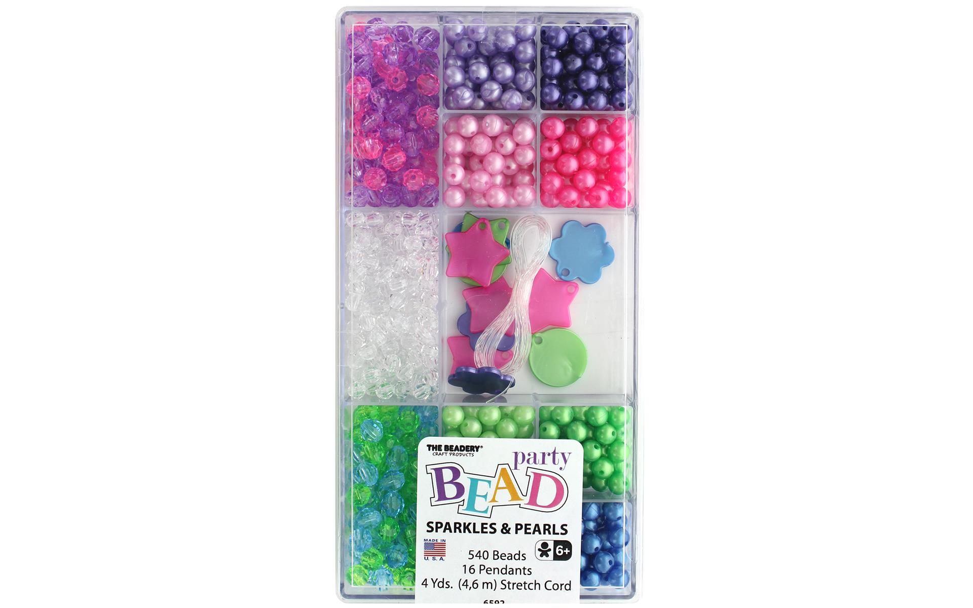 THE BEADERY CRAFT PRODUCTS TBC7446  BEADERY CRAFT ORNAMENT KIT PEARL ICICLES